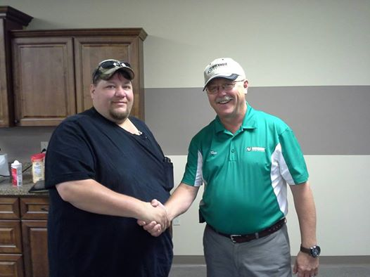 Ron Harris Buchheit Logistics Van Driver for the month August 2014