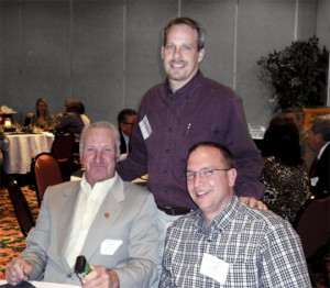 Larry Long receiving Chairmans Safe Driving Award
