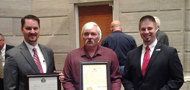 Darrin Haggett Missouri Truck Driver for May 2014